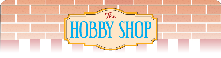 The Hobby Shop Product Banner