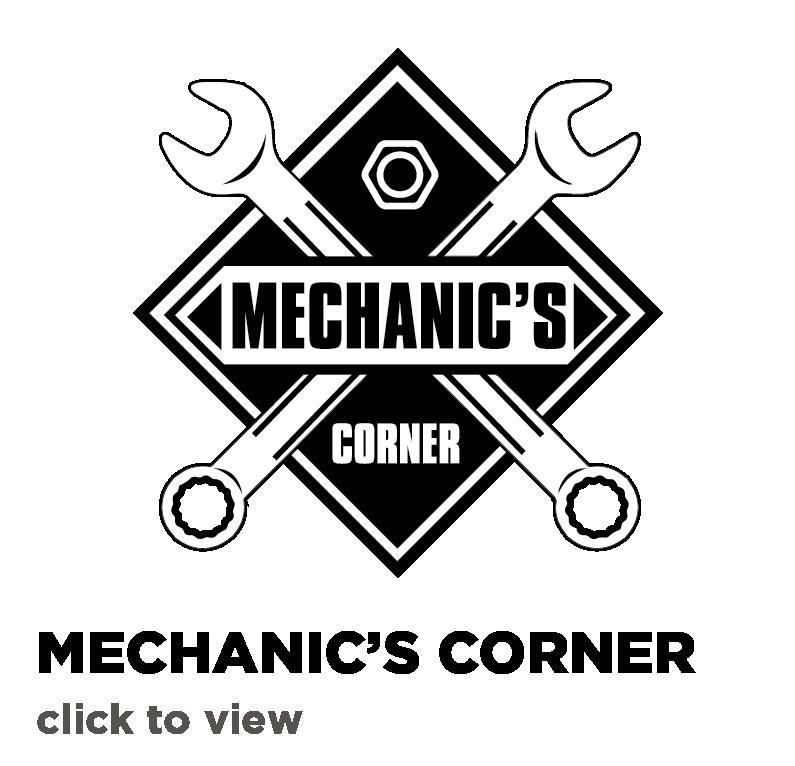 Mechanic's Corner