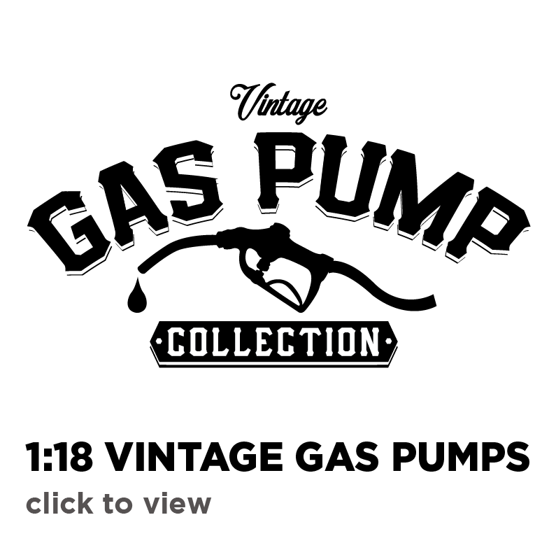 1:18 Vintage Gas Pumps